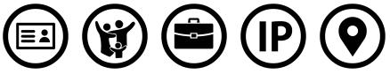 Icones CGU - Données personnelles