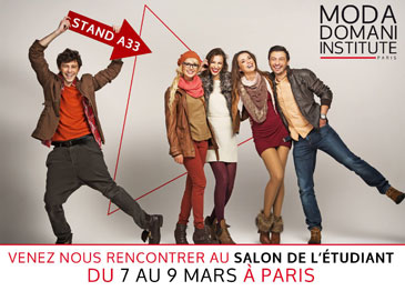 Moda Domani Institute au Salon de l'Etudiant